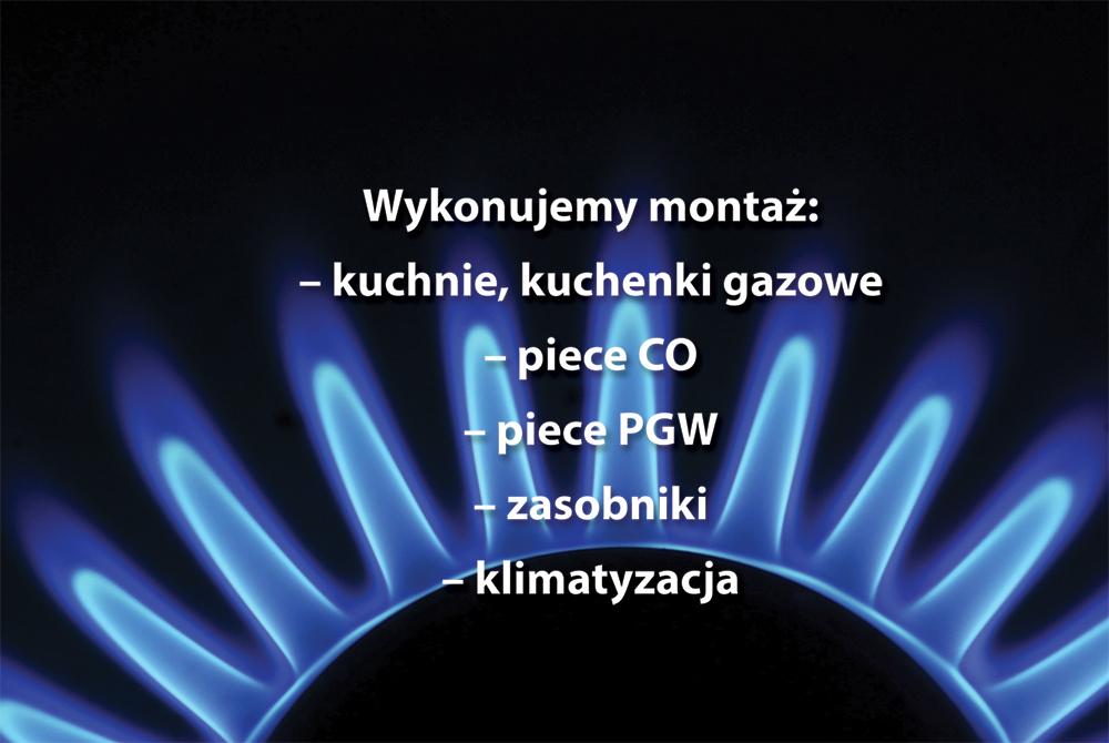 kuchenki gazowe wymiana montaż